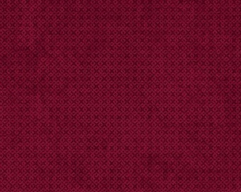 1 Yard fabric - INVENTORY SALE- Wilmington fabric by the yard- color- Merlot