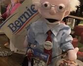 Bernie Sanders MePuppet, feelthebern, Bernie For President,