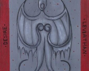 ENVY: Seven Deadly Sins Series - Signed Print