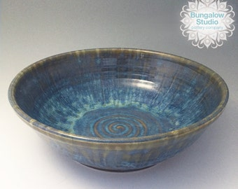 Ceramic Fruit Bowl, pottery serving bowl, valentines day gift