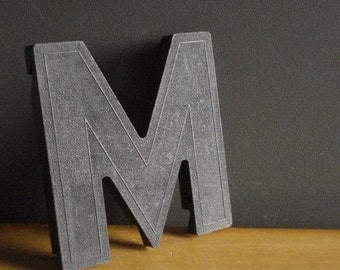30% off SALE This Listing Brought to You by the Letter M - Vintage Letter M - Black Letter M Monogram - Vintage Marquee Signage Letter
