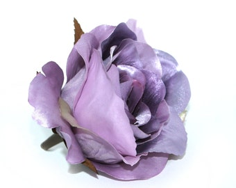 Metallic Lavender Purple Rose - Artificial Flowers, Silk Roses - PRE-ORDER