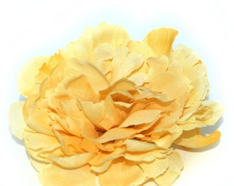 Harvest Yellow Peony - Boutique Quality - Artificial Silk Flower