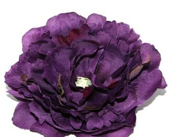 Small Purple Peony - Artificial Flower, Silk Flower