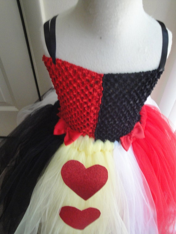 Queen Of Hearts Costume Diy Tutu new Girls girl cLarge ...
