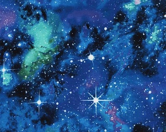 Timeless Treasures - Out of this World - Galaxy - Fabric by the Yard C4847-GALAX