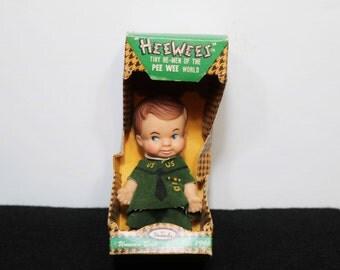 1966 Pee Wee Hee Wee Doll Scout