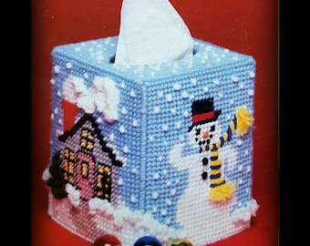 Snowman Tissue Cover Etsy