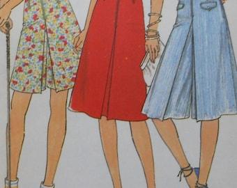 Culottes Sewing Pattern UNCUT Simplicity 8391 Size 10