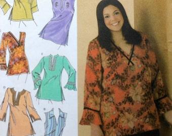 Tunic Sewing Pattern UNCUT Simplicity 4968 Sizes 26-32 Plus Size