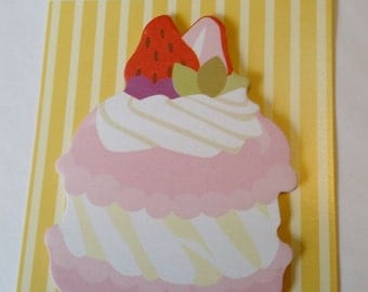 Macaron sticky note for planner scrapbooking card making paper kawaii memo strawberry ship from USA