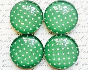 Glass Magnets - Magnets - Office Supplies - Decorative Magnets - Office Accessories - Glass Magnet - Office Decor - Fridge Magnets - Green