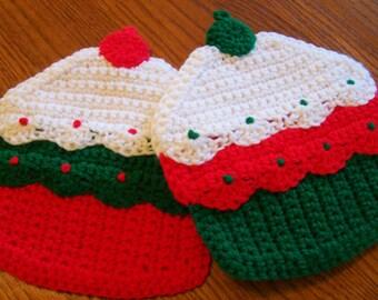 Cupcakes Wall Hangings / Potholders (pr)