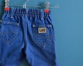Vintage Toddler's Authentic Early 1980s Lee Jeans - Size 2T