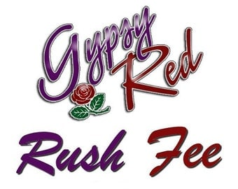 Rush Fee - Move Your Costume Order Up in Line