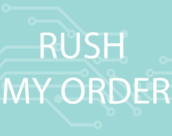 RUSH my order - (United States only)