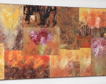 Fall Landscape #4 , Mixed Media Mural