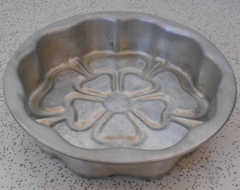 Flower Cake Pan Etsy