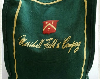 Small Green Marshall Field's & Company Tote