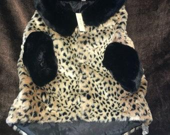 Leopard Dog Coat