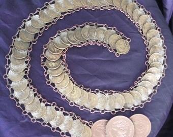 SALE 50's Mexican Peso Belt