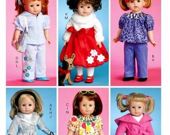 """18"""" Doll Clothes Pattern, 18 inch Doll Clothes Pattern, Dolls' Pug Dog Pattern, McCall's Sewing Pattern 5775"""