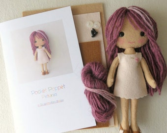 Pocket Poppet Kit - Petunia