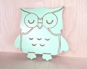 Adorable Owl Wall Hanging
