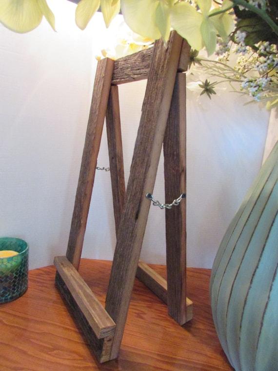 Wood Easel Wooden Wedding Easel Rustic Wedding Sign