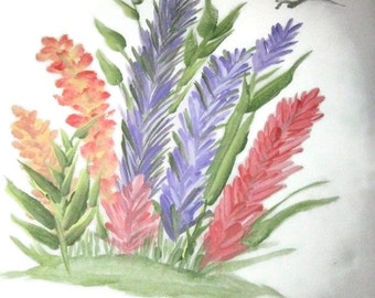 Wild Flowers Acrylic Painting
