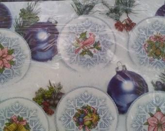 Snowflake elegance cross stitch kit, needlework, Christmas