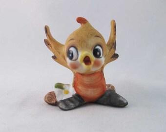 Vintage Josef Originals Baby Bird Figurine TMR-8/A
