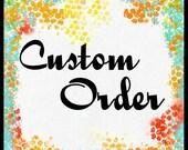 Fancy Nancy Banner / Custom Order for CMSusie