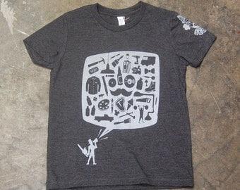 Mancraftival Youth T-Shirt SALE - Screenprint Tee
