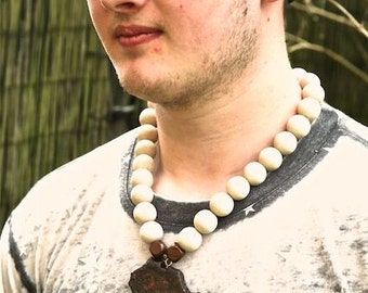 Chunky African necklace
