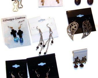 SALE - Earrings - Choose Your Design - Gemstones, Charms, Beads, Pearl, PIF, Crystal, Three Dollars Each