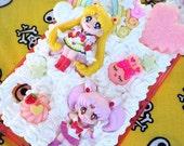 Sailor Moon Chibi Usa Galaxy S5 Decoden Kawaii Phone Case Ready to Ship