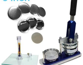 3 Inch Button Maker Machine - Professional Starter Kit
