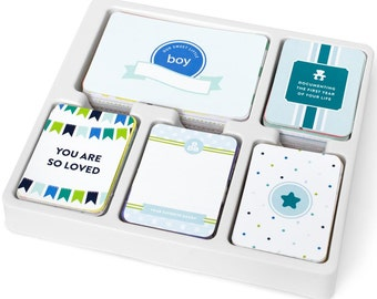 Becky Higgins PROJECT LIFE 1/4  Partial Core Kit - Baby BOY edition - 154 cards - New release