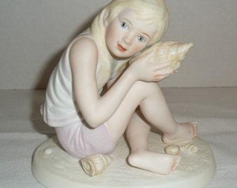 "Vintage Frances Hook Figurine ""SOUNDS of the SEA"""