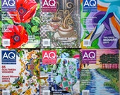 American Quilter Magazines Six Issues 2014 Quiltsy Destash Party