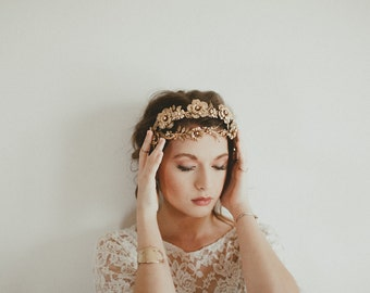 Le Fleuriste double band headpiece, #1314