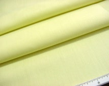 Vintage Solid Yellow Batiste Fabric -Soft Lightweight Great for Spring Baby and Doll Dresses