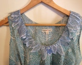 Willow Edwardian blouse with flounce