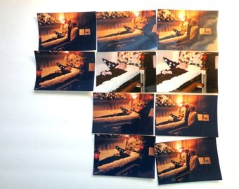 10 Post Mortem Photos 1991 Dead Body Casket FREE Shipping Funeral Items Oddity