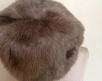 Vintage Faux Fur Hat