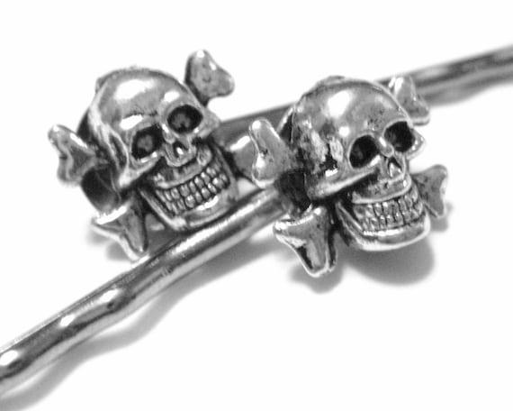 Skull Bobby Pins