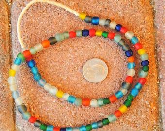 Ghana Glass Beads: Mixed 6mm