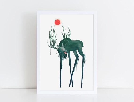 Elk of Hiisi
