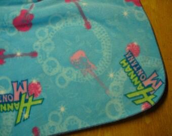 """Hannah Montana Fleece Throw--  72"""" x 58/60"""""""